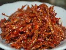 Resep cara membuat sambal jeruk ikan teri