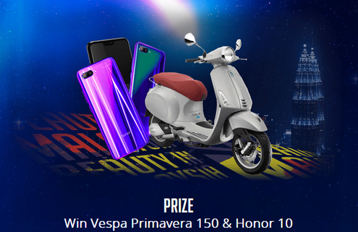 Vespa Primavera - Honor 10