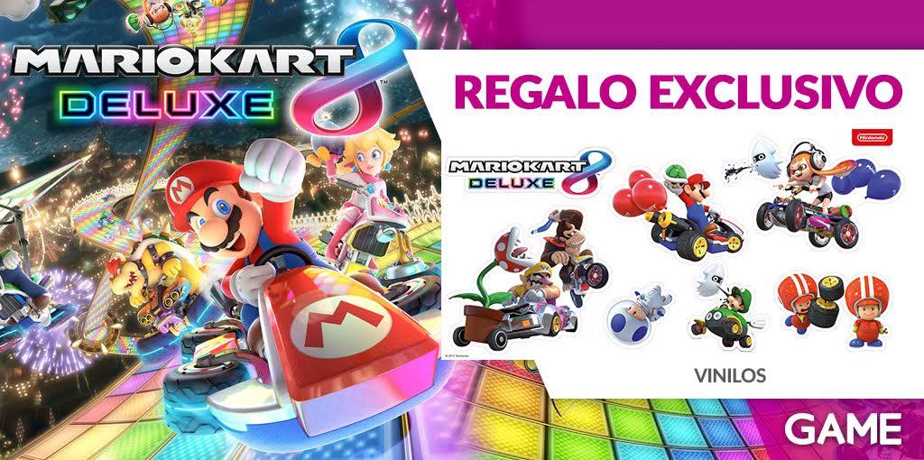 Decora tu casa con el regalo de GAME por resrevar Mario Kart 8 Deluxe