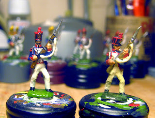 Der Kriegspielers DK11 E: French Line Infantry Elites 1812, Repelling