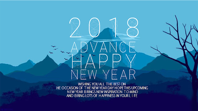 Happy New Year 2018 Wishes in Advance