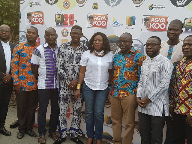 2CTV And Agya Koo Launch Tv Station