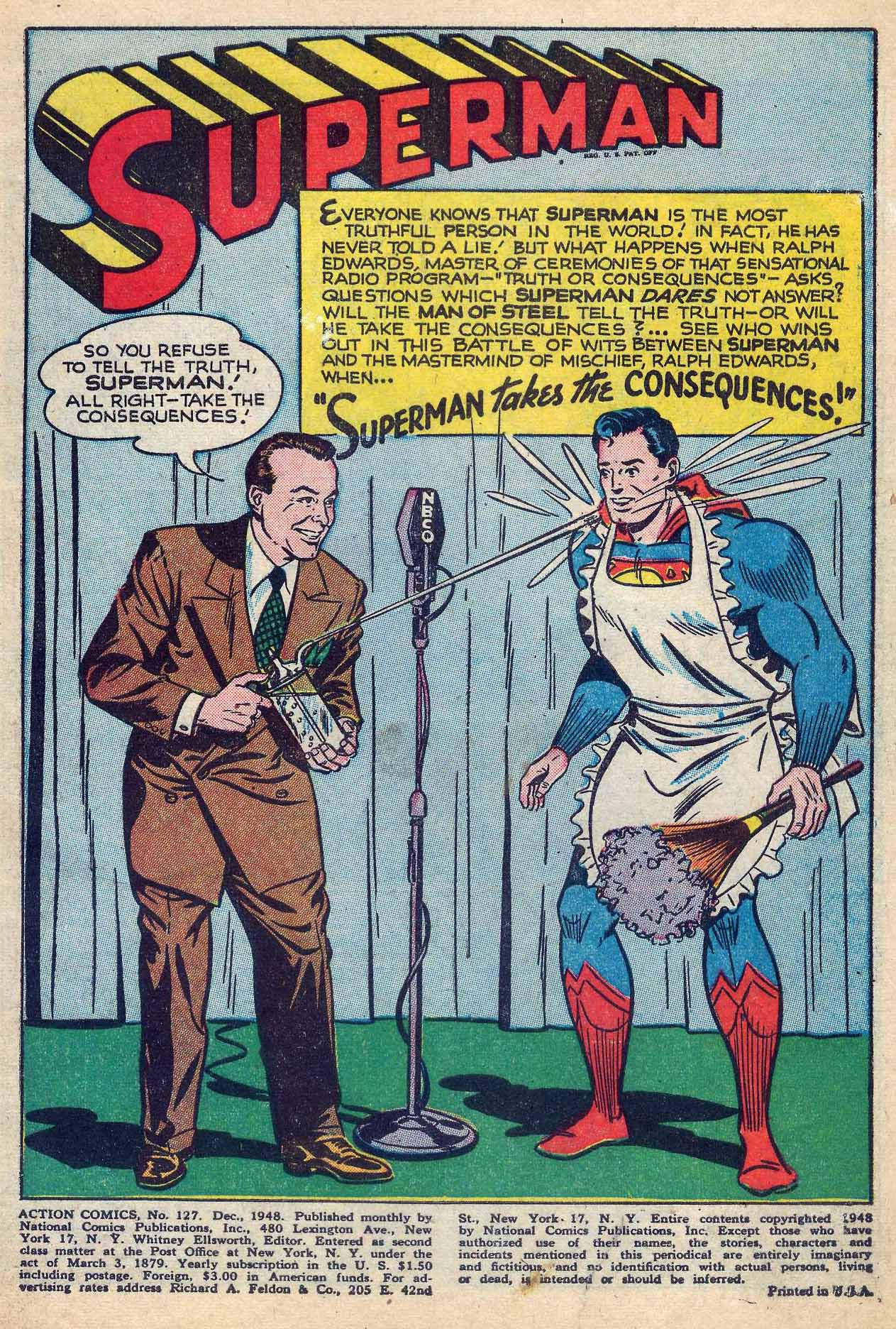 Read online Action Comics (1938) comic -  Issue #127 - 3