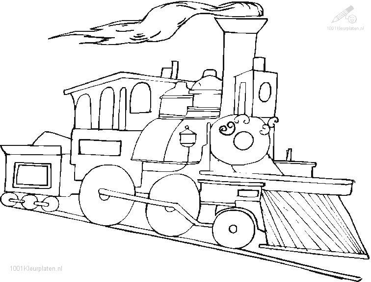 "Coloring Pages Of ""Polar Train Express"""