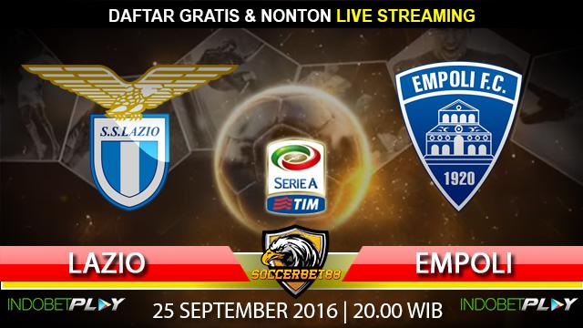Prediksi Lazio vs Empoli 25 September 2016 (Liga Italia)