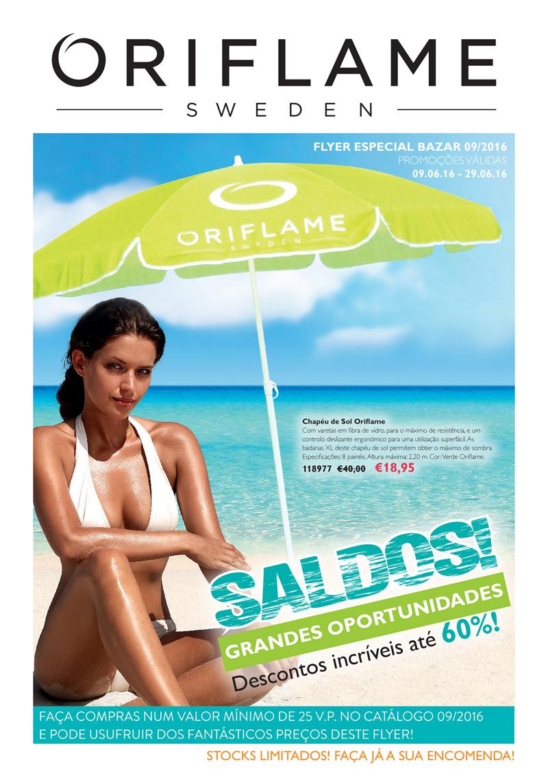 Flyer do Catálogo 09 de 2016 da Oriflame