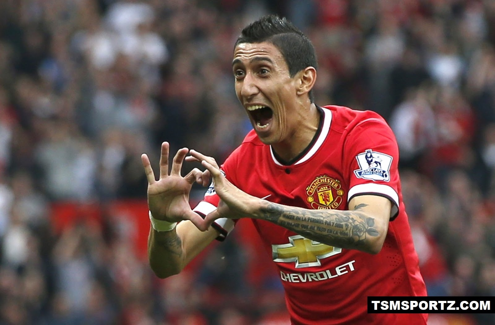 2014 Manchester United spend big money to buy Angel di Maria