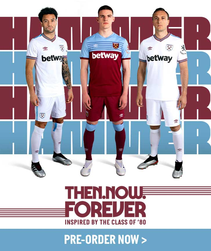 cd371be08 West Ham 19-20 Home & Away Kits Released - Footy Headlines