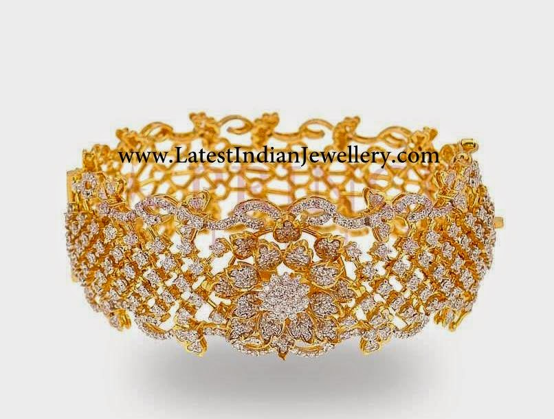 Designer Party Wear Diamond Bangle