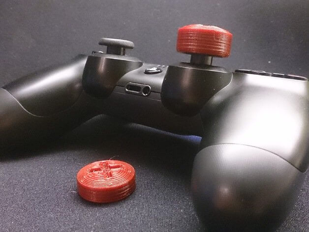 3D Printed PS4 controller stick extender
