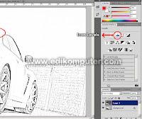 Mengubah foto menjadi sketsa seperti gambar pensil