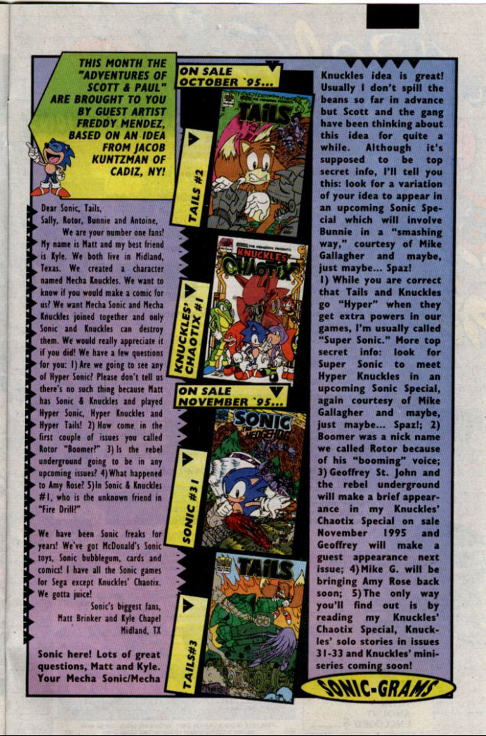 Read online Sonic The Hedgehog comic -  Issue #30 - 27