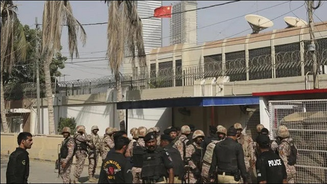 Initial investigation in attack on Chinese Consulate completed
