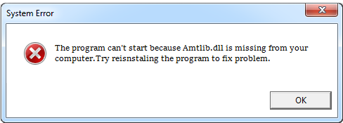 Télécharger Amtlib.dll Fichier Gratuit Installer