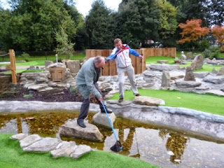 Putt in the Park Crazy Golf Course at Wandsworth Park, London