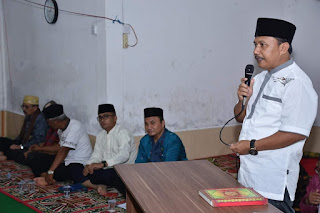Anggota DPRD agam Erdinal, Ikut Dalam Tim II Safari Ramadhan Pemkab Agam