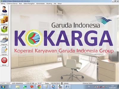 Software Koperasi Karyawan Garuda - MDI Form