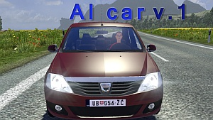 Dacia Logan for AI traffic