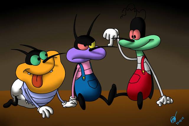 Mèo Oggy Và Những Chú Gián Tinh Nghịch. Các phim hoạt hình .