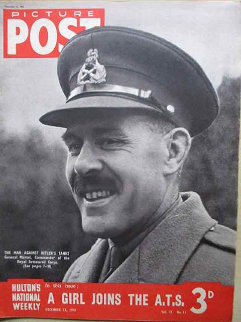 British General Martel on the cover of Picture Post on 13 December 1941 worldwartwo.filminspector.com