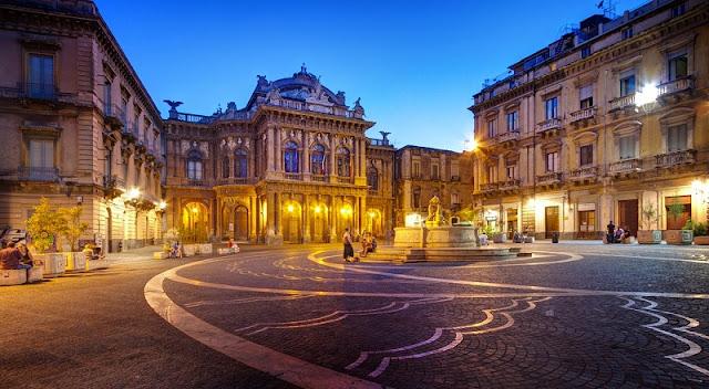 Centro Histórico de Catânia
