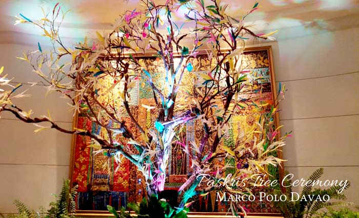 Paskris Tree Ceremony at Marco Polo Davao