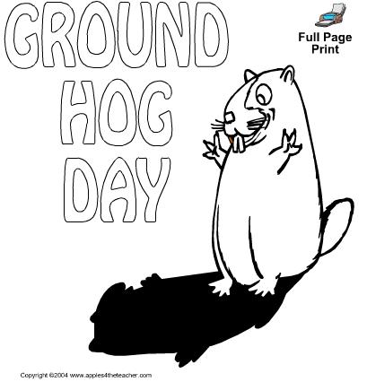 Chasing Tiny Feet: Free Groundhog Day Printables