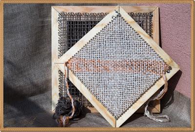 Kwadratowe ramki tkackie (square loom)