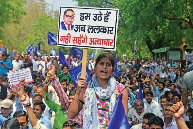 Dalit Word and Baba Saheb Ambedkar, Dalit right
