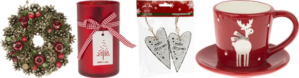 Wyprzedaż ozdób świątecznych w Rossmannie / ceny zestawów świątecznych