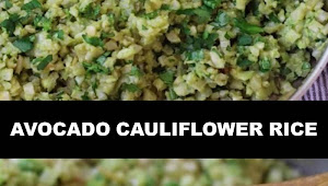 #The #World's #most #delicious #Avocado #Cauliflower #Rice
