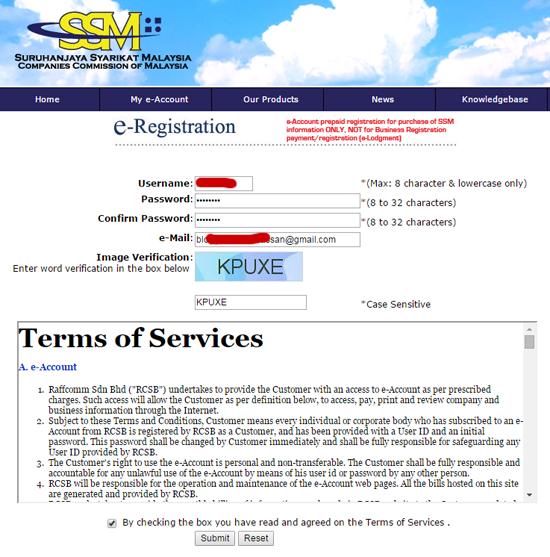 4 Langkah Semak Pendaftaran Ssm Perniagaan Online