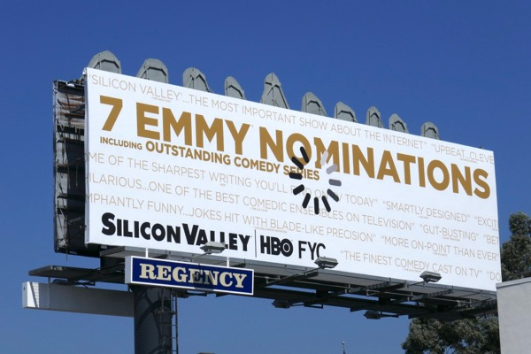 Silicon Valley 2018 Emmy nominee billboard