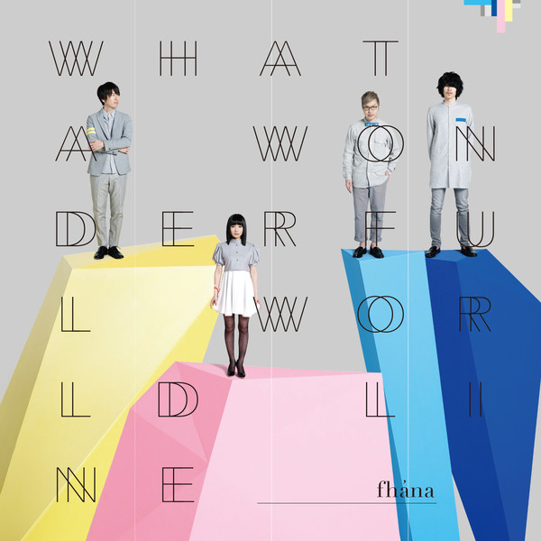 [Album] fhana – What a Wonderful World Line (2016.04.27/MP3/RAR)