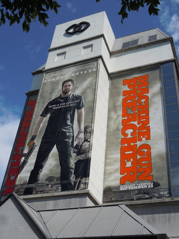 Machine Gun Preacher billboard