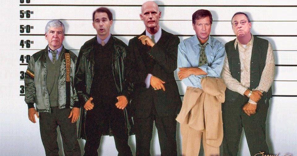 R i g h t a r d i a: Lineup of GOP thugs