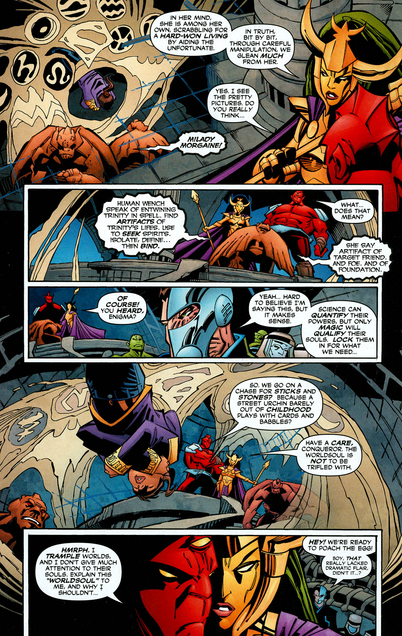 Read online Trinity (2008) comic -  Issue #8 - 26