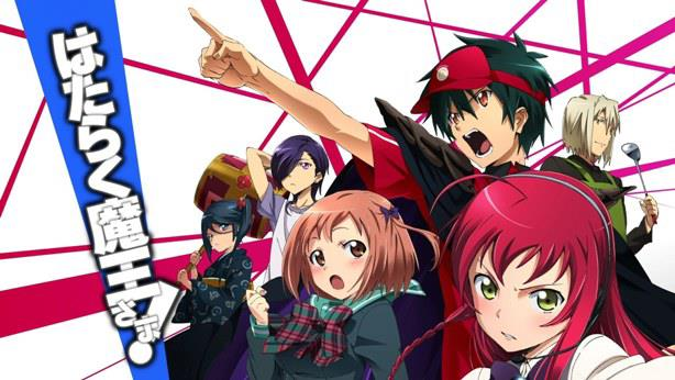 The Devil is a Part-Timer! (Hataraku maou sama) - Top Anime Overpower (Main Character Strong from the Beginning)