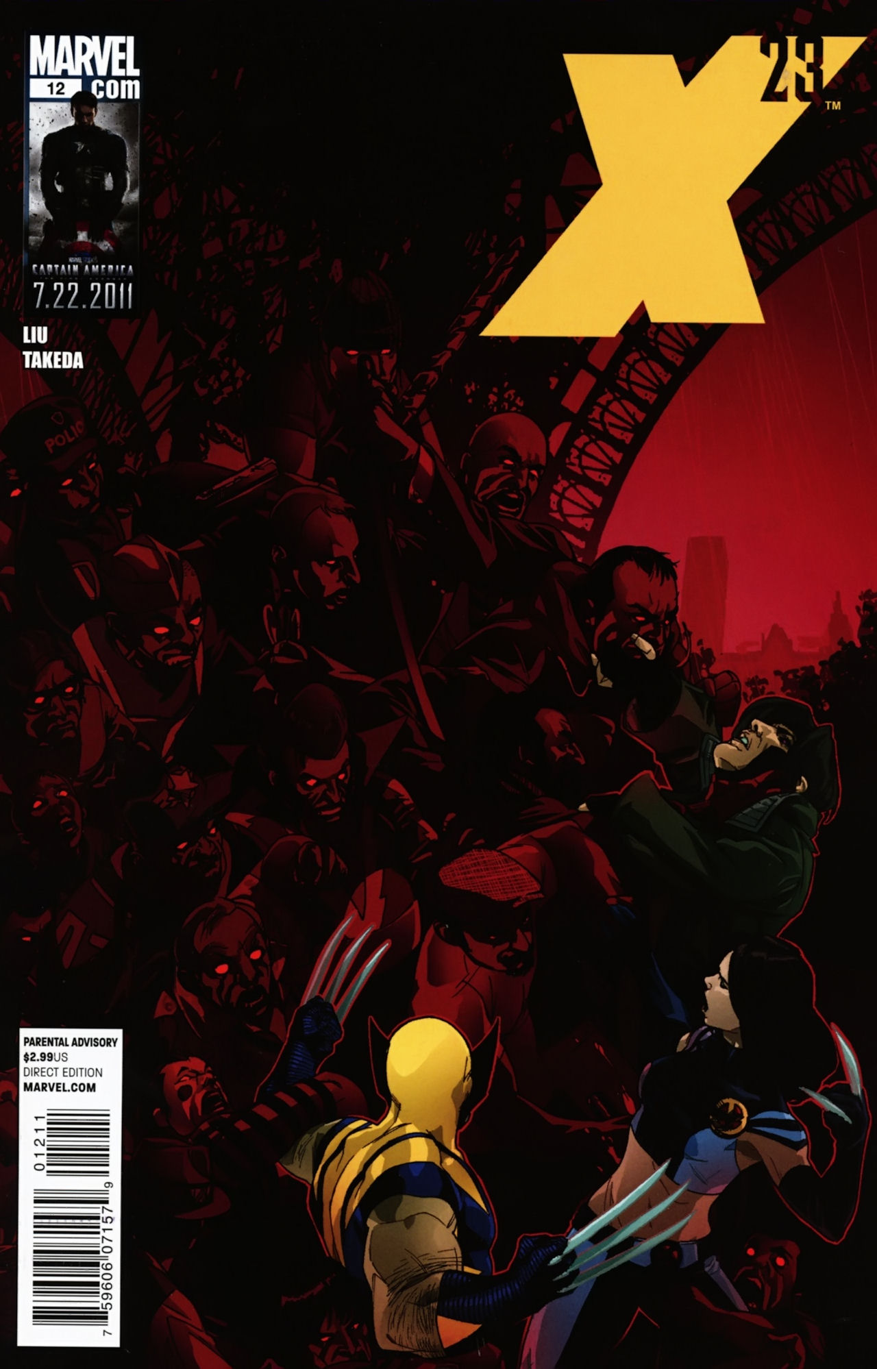 Read online X-23 (2010) comic -  Issue #12 - 1