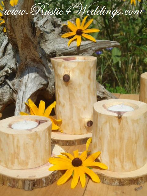 Church House Collection Blog Cedar Wedding Candle Holders