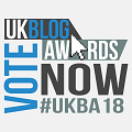 Please vote for us! UK Blog Awards 2018