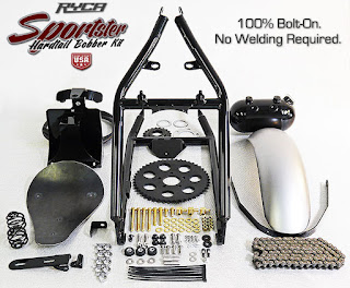 sportster bobber kit ryca motors parts