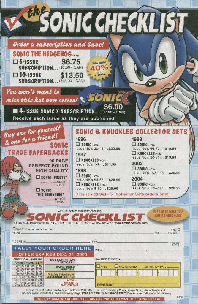 Read online Sonic The Hedgehog comic -  Issue #155 - 9