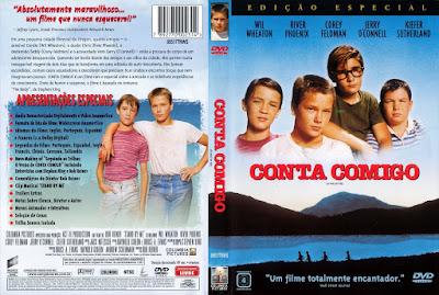 Filme Conta Comigo (Stand by Me) DVD Capa