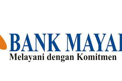 Lowongan Kerja Bank MAYAPADA (Unit Natar, Sribawono, Kalianda, Rumbia)
