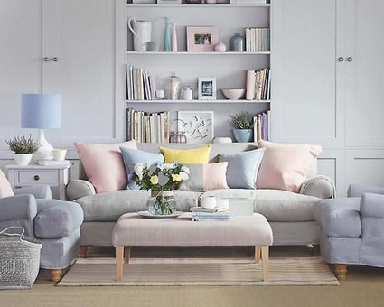 Rooms In Pastel Colors - Very Satisfying Eyes Decoration