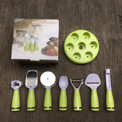 7in1 kitche untensil set with stand murag
