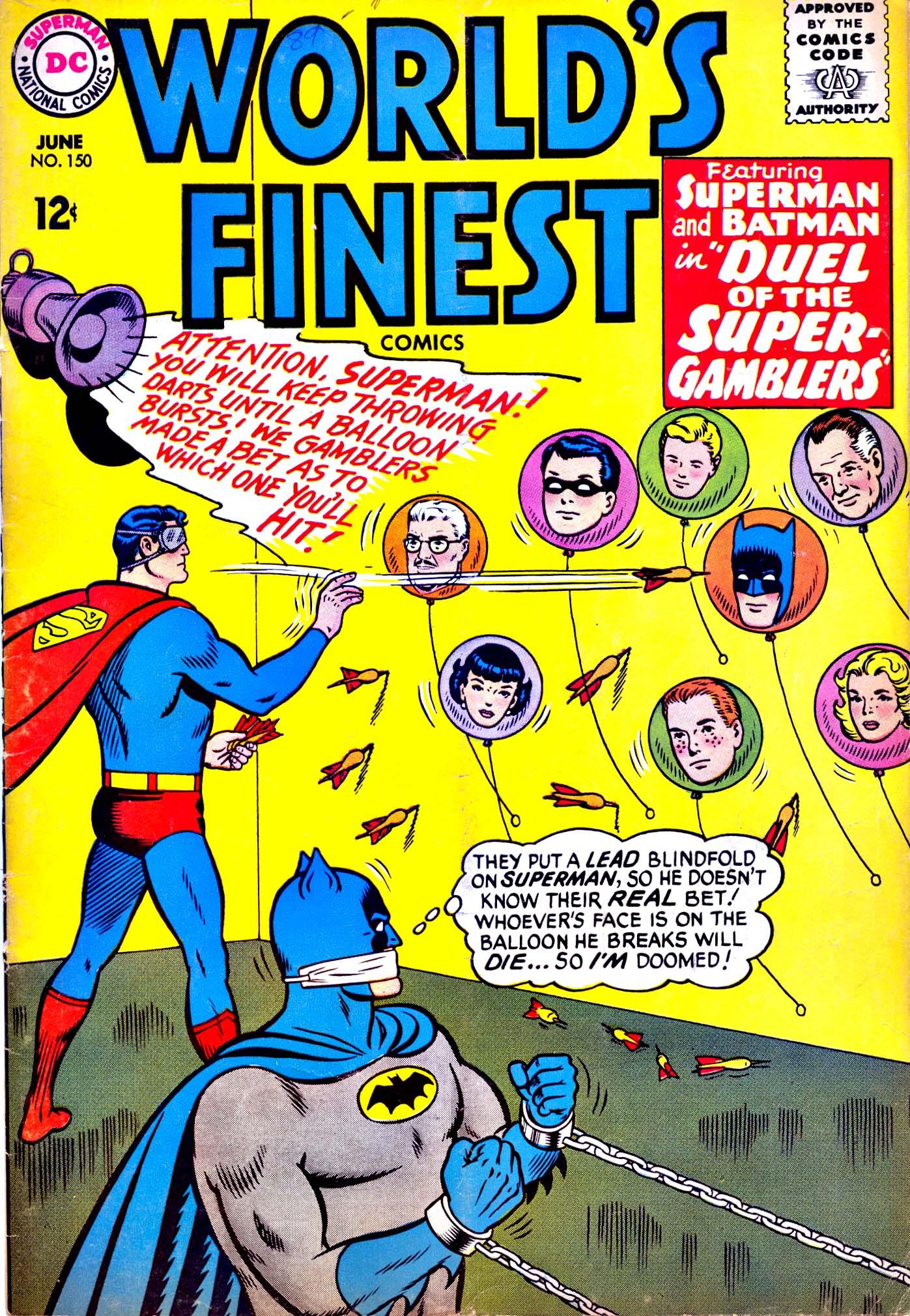 Read online World's Finest Comics comic -  Issue #150 - 1