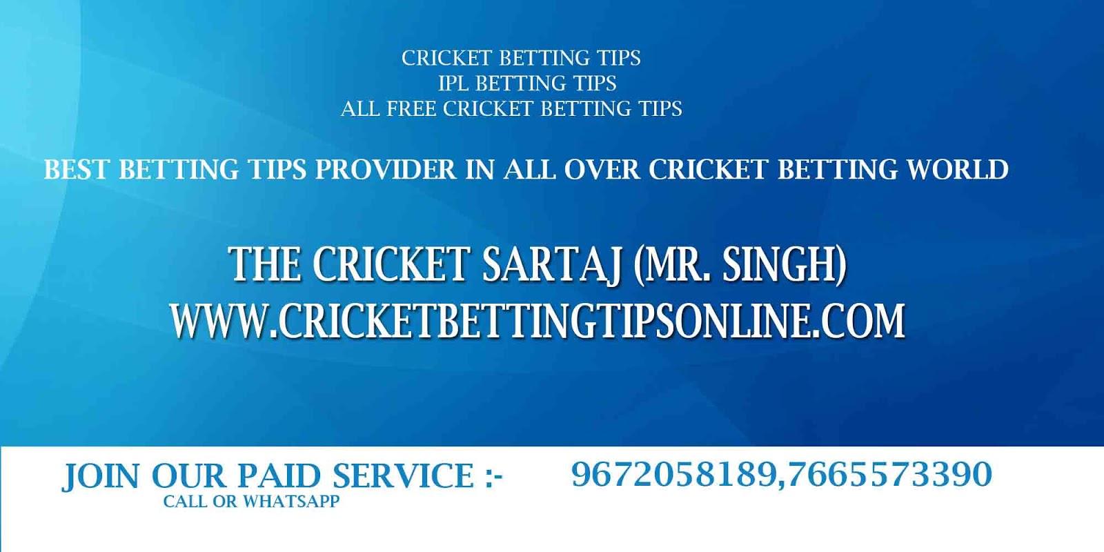 Cricket betting tips free blogspot trading indicators for binary options