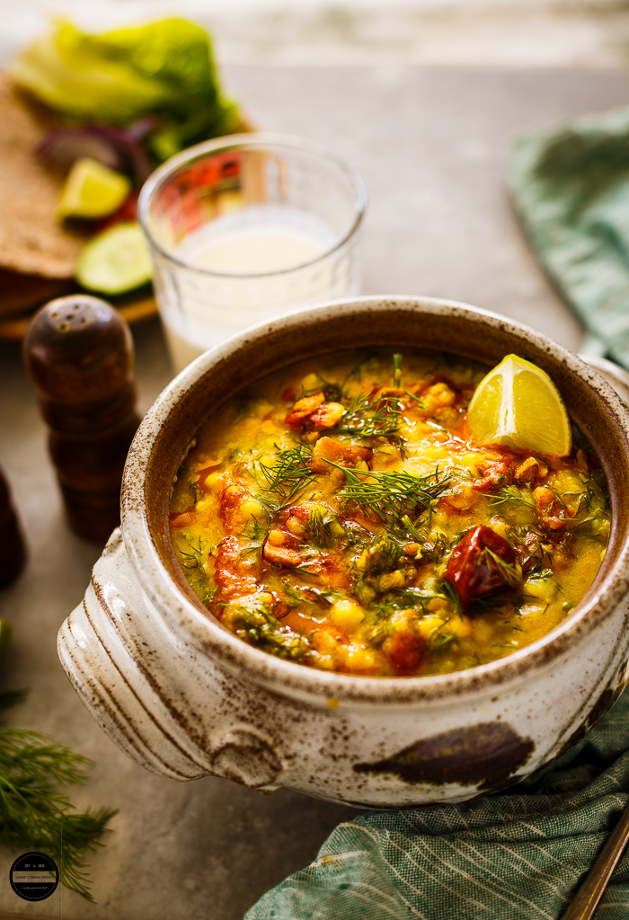 Lentils or daal is a staple in most Indian homes. This delicious, hearty and comforting quick mixed lentils and dill-suva bhaji daal is a great vegan dish for any day.It is healthy, nutritious and packed with flavours.